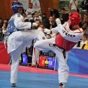 Die Taekwondo-Schweizer-Meisterschaft fand im September in der Wattwiler Markthalle statt. (Bild: Urs Huwyler)