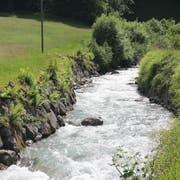 Das Wasser des Erstfelder Alpbachs soll für die Stromproduktion genutzt werden. (Bild: Paul Gwerder (Erstfeld, 26. März 2018))