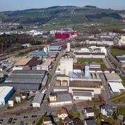 Im Gebiet Münchrüti in Sursee wollte der Stadtrat den Bau von Hochhäusern ermöglichen.Bild: Philipp Schmidli (21. März 2019)