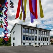 Im Schulhaus Kuonimatt herrscht Platzmangel. (Bild: Philipp Schmidli, Kriens, 1. Juni 2018)