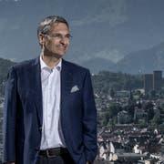 Tritt der Luzerner Regierungsrat Guido Graf (CVP) vorzeitig ab? (Bild: Pius Amrein)