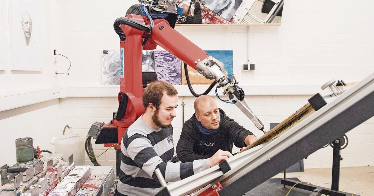Künstliche Intelligenz David Der Kunst Roboter Stgaller Tagblatt