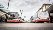 Bahnhof Frauenfeld: zentraler Umsteigeort für alle Stadtbuslinien. (Bild: Andrea Stalder)