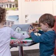An der Messe Bauen+Wohnen in Luzern können sich Besucher über Fragen rund um Energie und Wohneigentum informieren – auch die Kleinen kommen auf ihre Kosten. (Bild: PD/ZT Fachmessen)