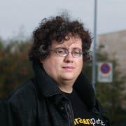 Stefan Thöni von der Piratenpartei schafft den Einzug ins Zuger Verwaltungsgericht nicht. Bild: Stefan Kaiser (Zug, 4. Oktober 2017)