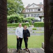 Bernd Schützelhofer mit seiner Partnerin Jackie Pedregal. (Bild: PD)