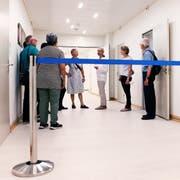Psychiatrische Klinik Oberwil, Tag der offenen Tür Patrick Hürlimann (Neue Zuger Zeitung)