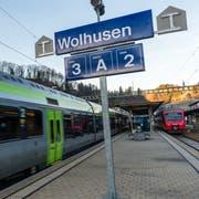 Wolhusen erhält auf den kommenden Fahrplanwechsel im öffentlichen Verkehr eine höhere Bedeutung. (Bild: Roger Grütter, 13. Dezember 2015)