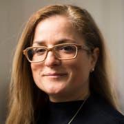 Die St.Galler Baudirektorin Maria Pappa. (Bild: Benjamin Manser - 8. März 2018)