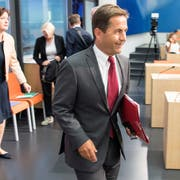 Bundeskanzler Walter Thurnherr hat die Federführung beim Thema E-Voting. Bild: Peter Schneider/Keystone