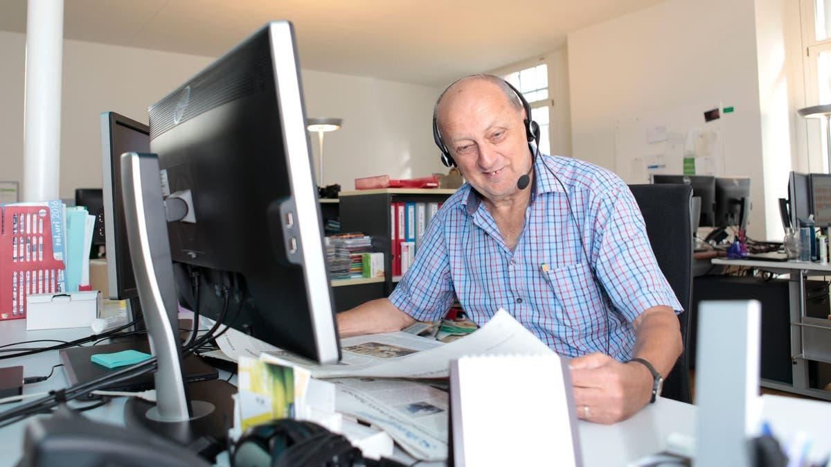 Interview - UZ-Redaktor Bruno Arnold geht in den Ruhestand