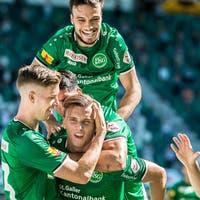 «Wir haben wieder etwas Glück benötigt»: Der FC St.Gallen ge ...