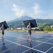 Der Kanton St.Gallen will vor allem den Ersatz fossiler Heizungen vorantreiben. (Bild: Urs Flüeler/KEY)