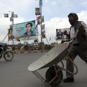 Strassenszene in Afghanistans Hauptstadt Kabul. (Bild: Rahmat Gul/AP (Kabul, 16. Oktober 2018))