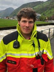 Markus Wenk, Kommandant der Feuerwehr Wildhaus-Alt St.Johann. (Bild: Timon Kobelt)