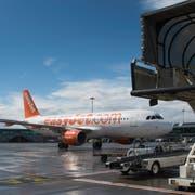 Konkurrenz für die Billig-Airline Easy Jet am Flughafen Basel. Swiss Skies will ab 2019 von Basel abheben. (Georgios Kefalas/Keystone)