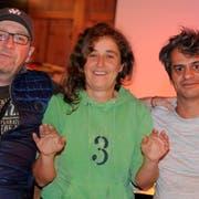 Das Organisationskomitee von «Behind the Bush Productions»: Bülent Serbest, Antonia Dobler und Artur De Sousa. (Bild: Rudolf Steiner)