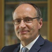 Kam trotz Streit mit der Zentrale zum Migros-Geburtstagsfest: Damien Piller, Präsident der Genossenschaft Neuenburg-Freiburg. Bild: Gian Ehrenzeller/Keystone