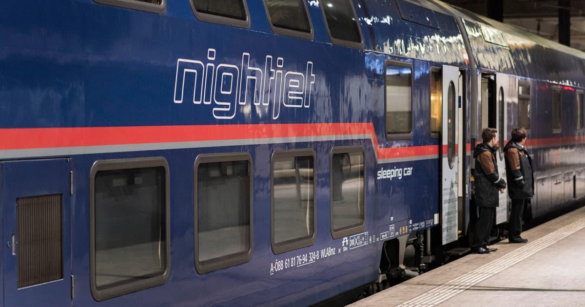 Grosser Andrang Auf Nachtzüge Reiseziele Wie Hamburg Und