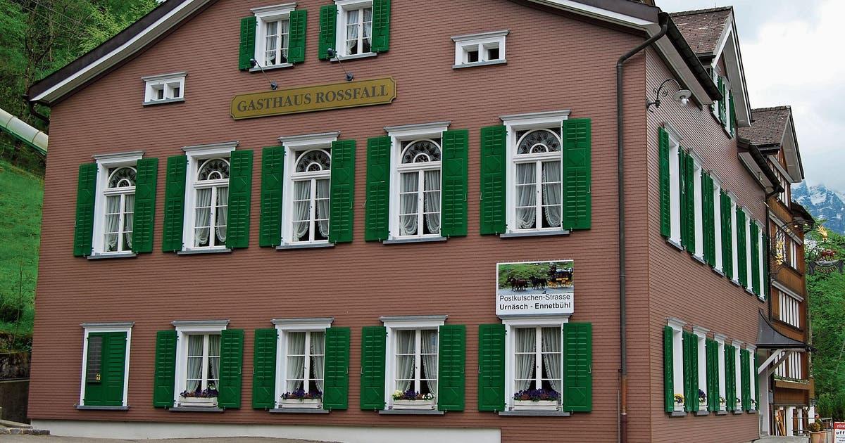 Konkurs über Traditionsgasthaus Rossfall in Urnäsch eröffnet | St.Galler Tagblatt