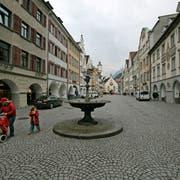 Die Altstadt von Feldkirch: Ein Jugendlicher steht wegen Mordes und versuchten Mordes vor Gericht. (Archivbild: Reto Martin)