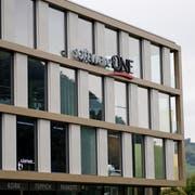 Der Hauptsitz von SoftwareOne im Schnyderpark Stans. (Bild: Corinne Glanzmann, 24. September 2019)