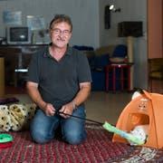 Heinz Staub ist Geschäftsführer des Tierheims Sitterhöfli. (Bild: Coralie Wenger)