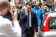 Der Politikchef der Fünf-Sterne-Protestbewegung Luigi Di Maio. (Giuseppe Lami/AP (Rom, 17. Mai 2018))