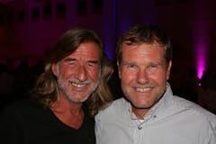 DJ Ralph Wicki (links) und Stefan Lipp. (Bild: Sepp Odermatt (Hergiswil, 10. November 2018))
