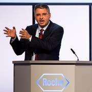 Spitzenverdiener in der Spitzenverdienerbranche: Roche-CEO Severin Schwan (51). Der österreichisch-deutsche Manager erhielt 2017 rund 15 Millionen Franken im Jahr. (Stefan Bohrer/Keystone)
