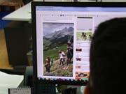 Das Heuskifahrer-Video wurde rund 30'000 Mal angeglickt. (Symbolbild: Bruno Arnold)