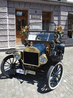 Dieses Schmuckstück ist über 100 Jahre alt. Der Ford T hat Jahrgang 1913. (Bild: Franziska Herger, Sarnen, 8. Juni 2019)