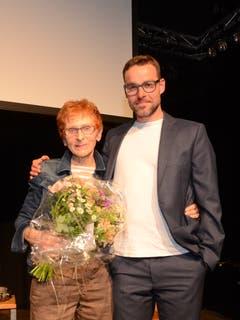 4. Mai: Die Buchser Lyrikerin Elsbeth Maag erhält den Anerkennungspreis der St.Gallischen Kulturstiftung. (Bild: Corinne Hanselmann)