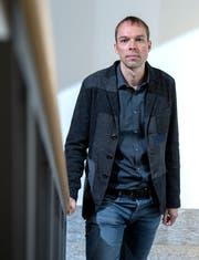 Basil Eckert, Leiter Abteilung Schulpsychologie des Kantons Schwyz. (Bild: Pius Amrein, Kollegium in Schwyz, 23. August 2018)