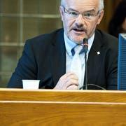 Finanzdirektor Köbi Frei scheidet Ende Mai aus der Exekutive aus. Bild: Martina Basista.