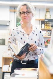 Marianne Sax in ihrem Bücherladen in Frauenfeld. (Bild: Andrea Stalder)