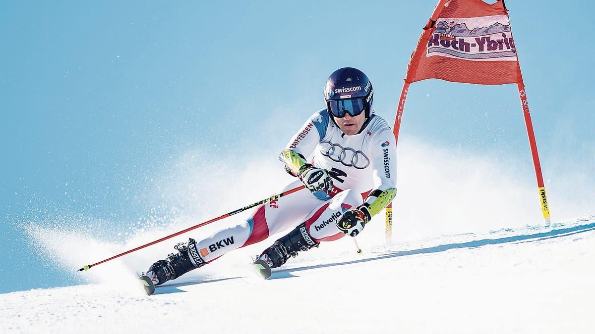 Cédric Noger Vom Skiclub Speer Ebnat-Kappel Zeigt Eine