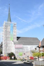 Die evangelische Kirche Hemberg wurde letztmals im Jahr 1974 von Grund auf saniert. (Bild: Urs M. Hemm)
