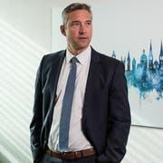 Jörg Wobmann ist seit 100 Tagen Chef der Luzerner Kriminalpolizei. (Bild: Roger Grütter, Luzern, 6. März 2019)