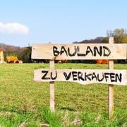 Bauland zu verkaufen: Falls sich kein Käufer findet, wird zurückgezont. (Bild: Fotolia)
