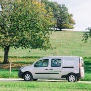 Ein Elektrofahrzeug, mit dem Angestellte der neuen Quickmail-Division Quickpac ab Mai Pakete zustellen wollen. (Bild: PD