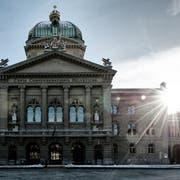 Das Bundeshaus in Bern.fotografiert am 12.12 2012.(neue LZ/roger gruetter)