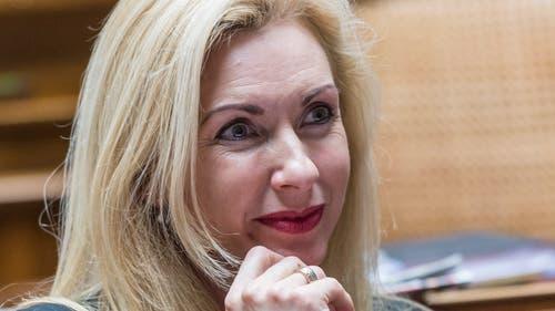 Rang 2 auf der Liste der Pflichtbewussten: Barbara Keller-Inhelder verpasste in der laufenden Legislatur 0,12 Prozent der Abstimmungen. (Bild: key)