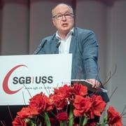 Pierre-Yves Maillard ist der neue SGB-Präsident. (KEYSTONE/Marcel Bieri, 1. Dezember 2018)