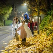 Halloween scheint bei den Jungen nicht mehr sonderlich beliebt zu sein. (Bild: Benjamin Manser)