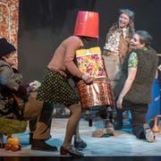 Das Kleintheater Luzern kann die Unterstützung durch die Regionale Kulturkonferenz gebrauchen. Hier die Hauptprobe zum Stück «Fleisch. Ein Melodram». (Bild: Pius Amrein (Luzern, 17. Oktober 2017))