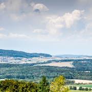 Blick von Herten ob Frauenfeld auf die Politische Gemeinde Herdern: links Herdern, in der Mitte die Weiler Wilen und Ammenhausen, rechts Lanzenneunforn. (Bild: Andrea Stalder)