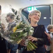 Esther Friedli freut sich über ihre Wahl. (Bild: Benjamin Manser)