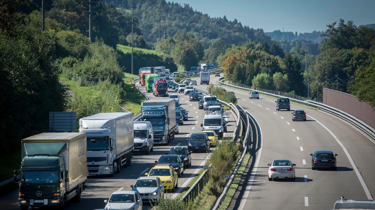 Autobahn Gesperrt A1