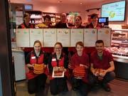 Das Team der Metzgerei Rust in Neu St.Johann. (Bild: PD)